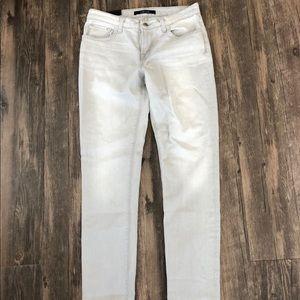 J Brand light wash grey jeans, Sz 25 NWT